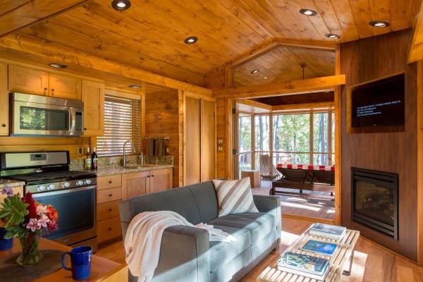 Charming Tiny Cabin Vacation Home Idesignarch Interior