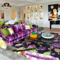 Eclectic Decor With Powerful Use Of Colour And Pattern ...
