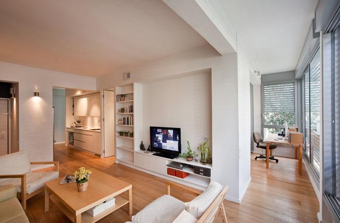 Small Apartment Design In TelAviv With Great Floorplan  iDesignArch  Interior Design