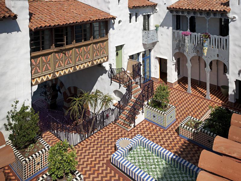 Moroccan Influenced Condominium Complex In Santa Barbara  iDesignArch  Interior Design