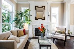 Elegant Contemporary Traditional Living Room Design Ideas ...