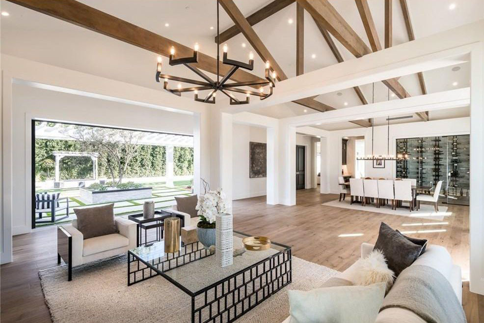 Newly Constructed Luxury Modern Farmhouse Style Estate in ...