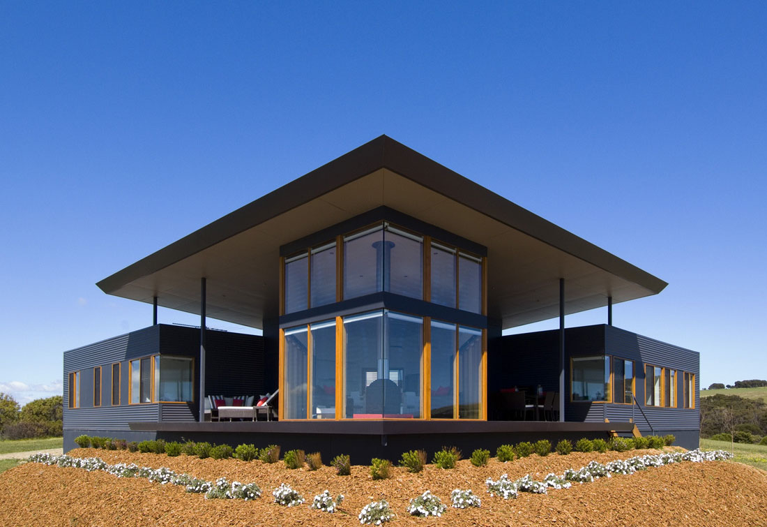 Holiday Home With Sweeping Ocean Views IDesignArch Interior