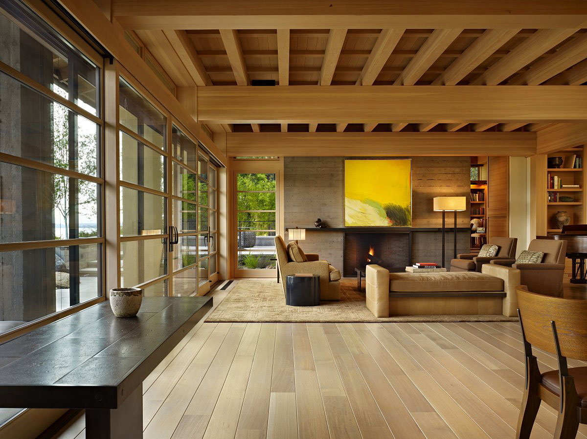 Contemporary House In Seattle With Japanese Influence IDesignArch Interior Design