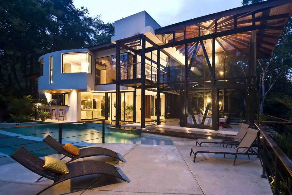 tropical living room in malaysia the dump furniture environmentally friendly luxury house costa rica ...