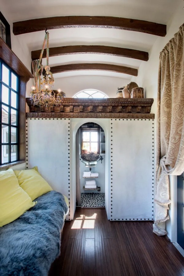 Bohemian Tiny House Constructed Reclaimed And