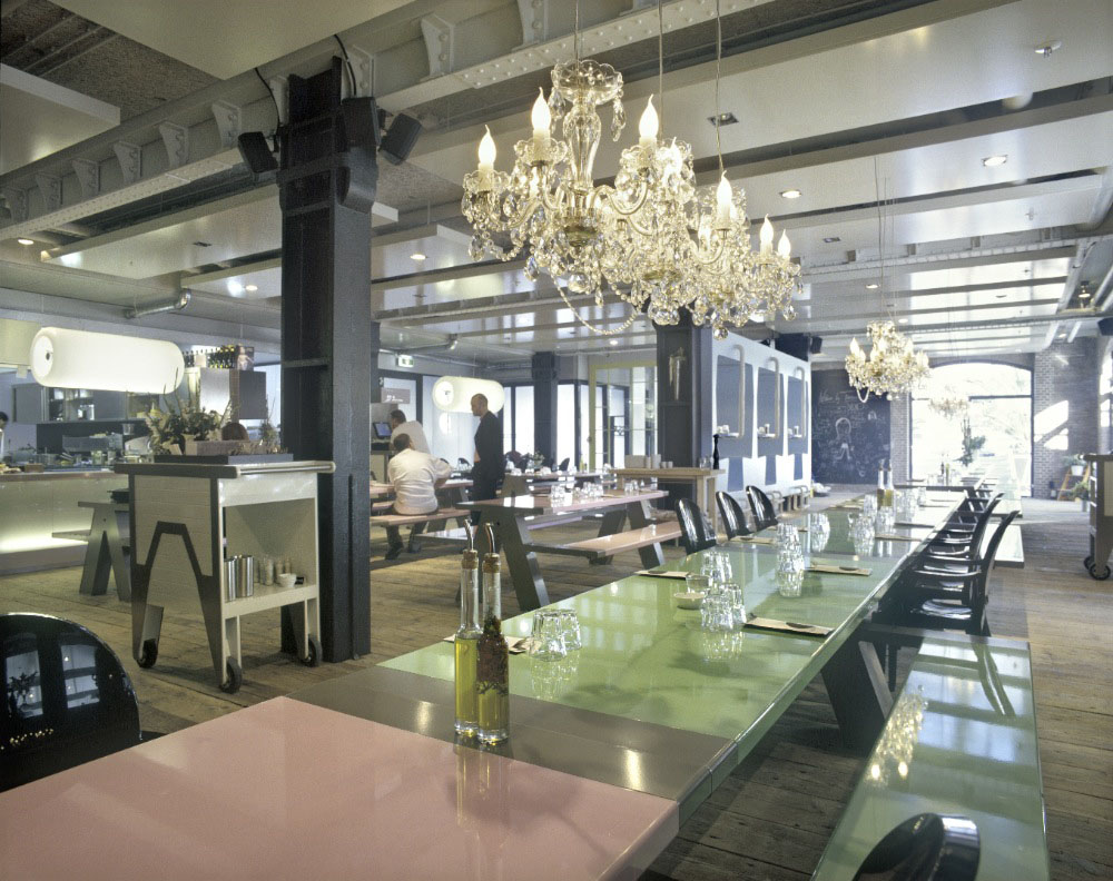 Fabbrica Restaurant  A Romantic Canteen  iDesignArch  Interior Design Architecture