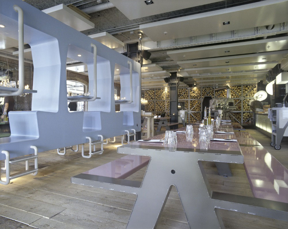 Fabbrica Restaurant  A Romantic Canteen  iDesignArch  Interior Design Architecture
