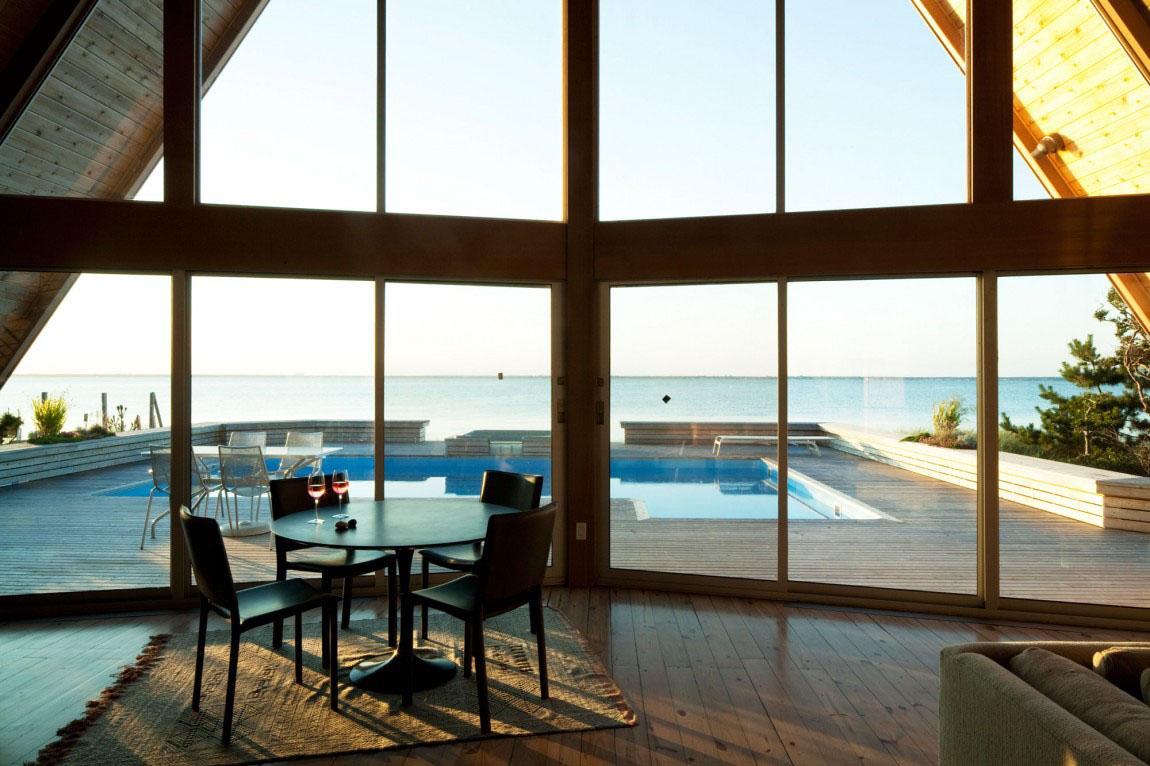 Three Storey A Frame Vacation Beach House Idesignarch