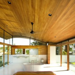 Building Kitchen Island Base Environmentally Friendly Modern Tropical House In ...