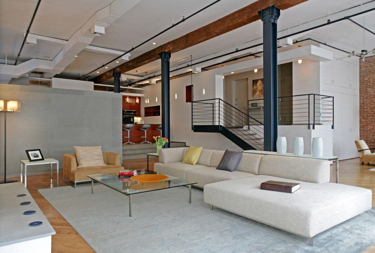 Flatiron District Open Plan Loft In Manhattan  iDesignArch  Interior Design Architecture  Interior Decorating eMagazine
