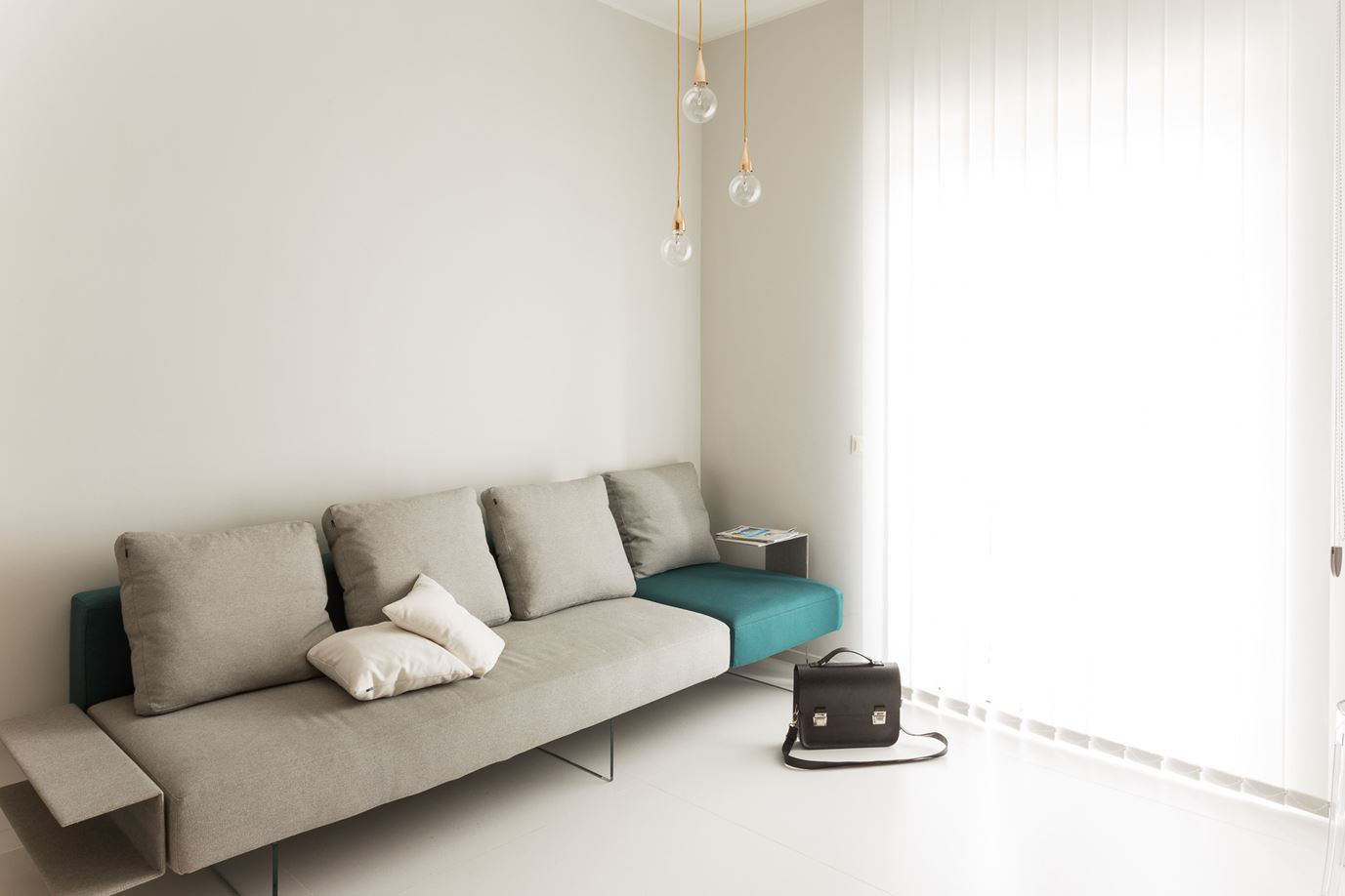 Small Studio Apartment with Functional Custom Closet and Glass Bedroom  iDesignArch  Interior