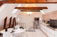 Modern Rooftop Duplex Apartment In A 17th Century Building ...