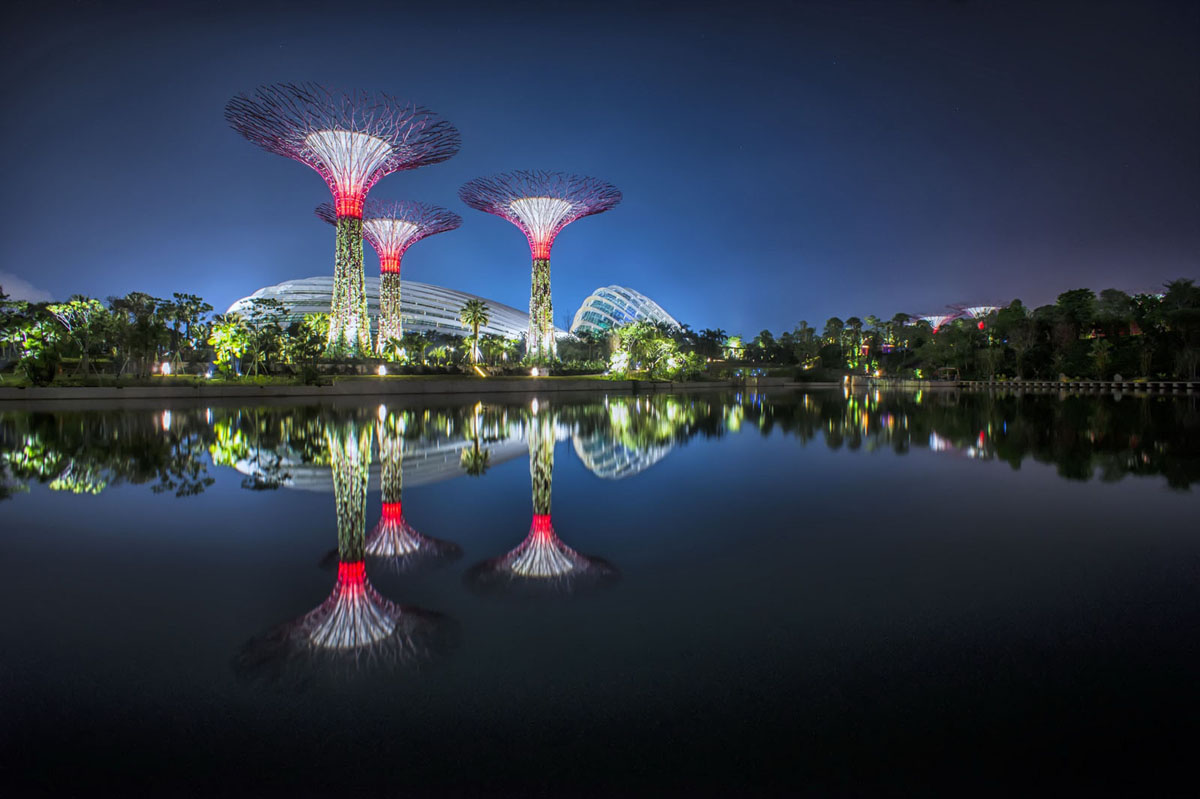 Spectacular Gardens By The Bay In Singapore  iDesignArch  Interior Design Architecture