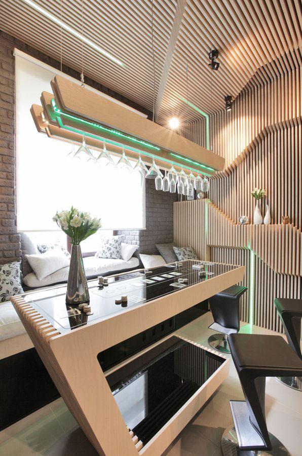 Cool Modern Kitchen Ideal For Entertaining   iDesignArch   Interior Design, Architecture ...
