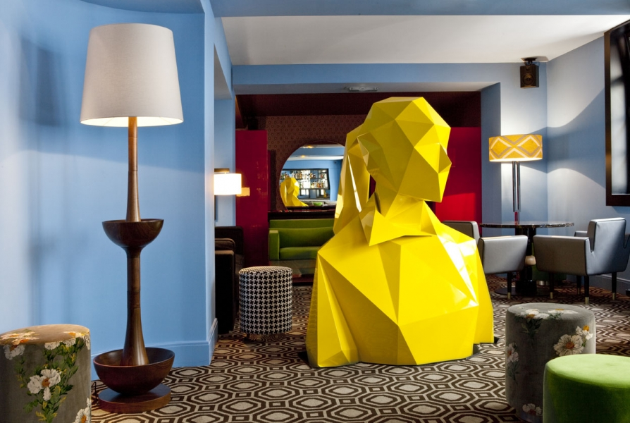 Caf Germain  Paris  iDesignArch  Interior Design