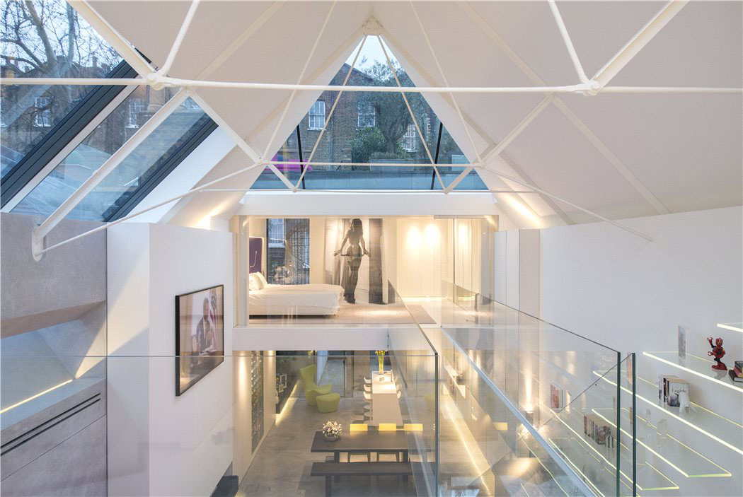 Modern Artists Studio Terrace House In Chelsea