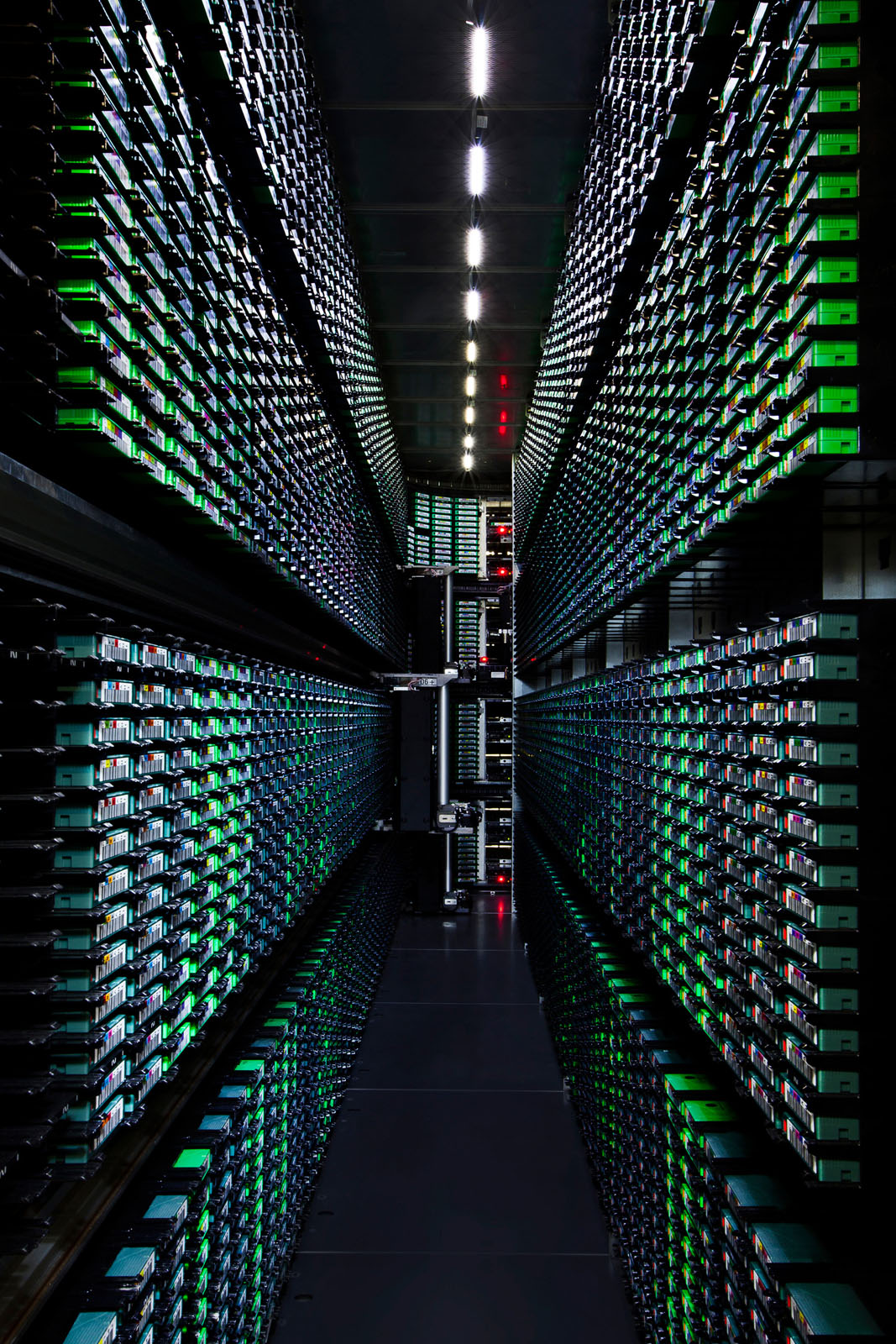 Inside Googles HighTech Data Centers  iDesignArch  Interior Design Architecture  Interior