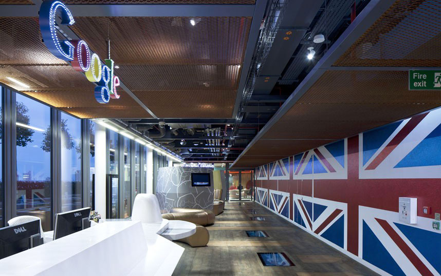 Inside The Quirky Google London Office  iDesignArch  Interior Design Architecture  Interior