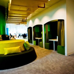 Sofa And Chairs Computer Chair Back Inside The Quirky Google London Office | Idesignarch Interior Design, Architecture & ...