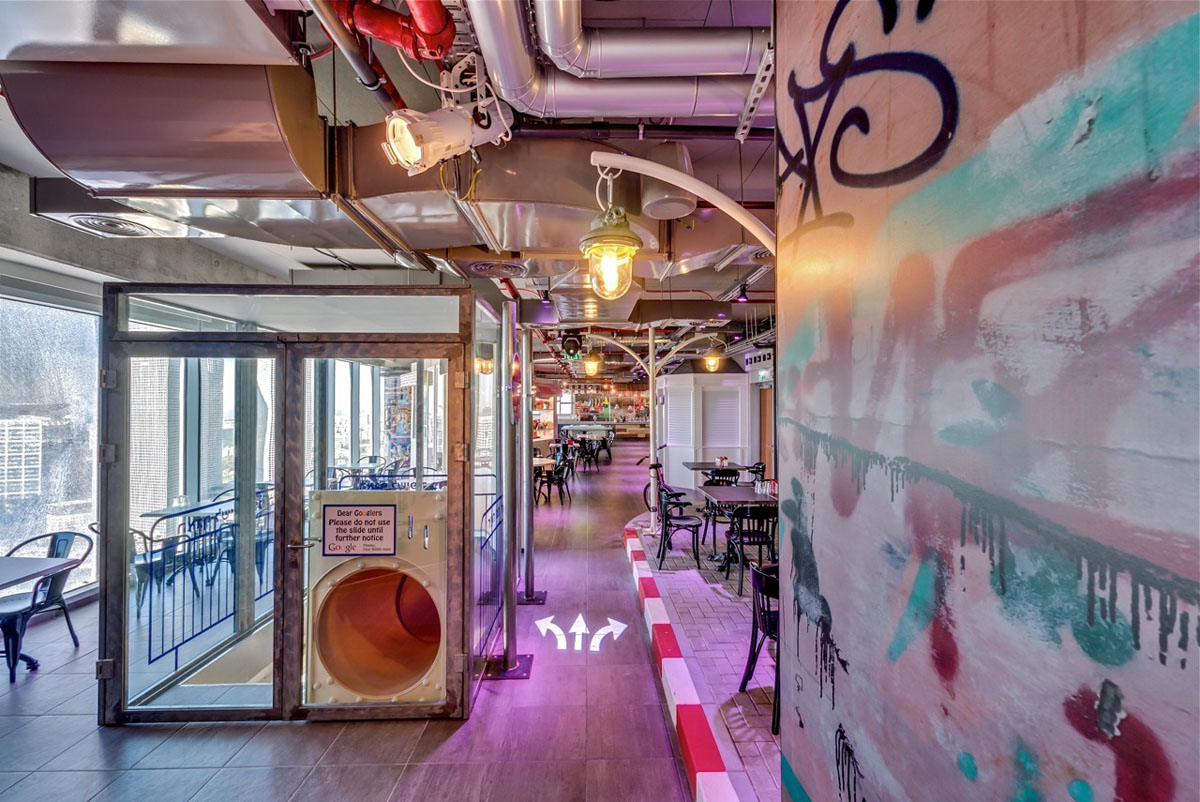 Google Tel Aviv Office Interiors  iDesignArch  Interior Design Architecture  Interior