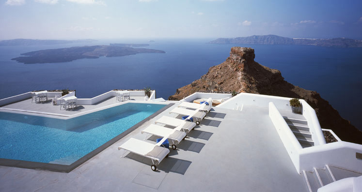 Grace Santorini Hotel  Jewel Of The Greek Islands  iDesignArch  Interior Design Architecture