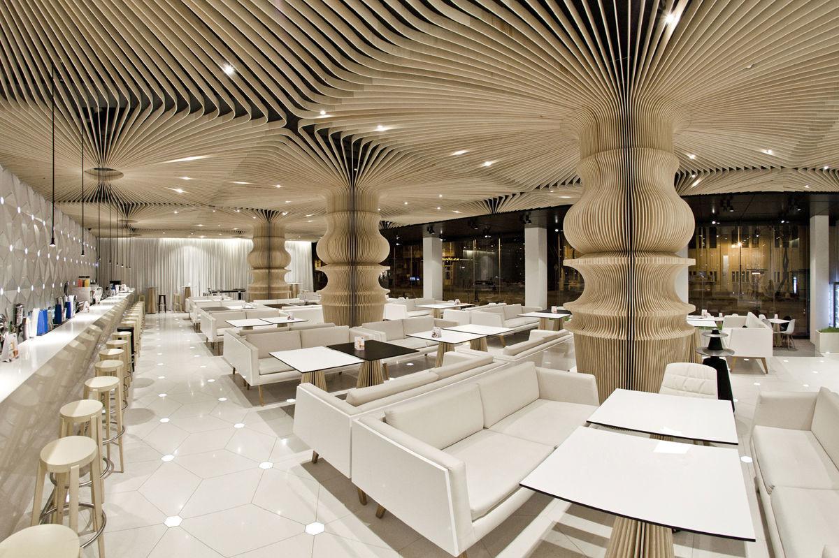 Graffiti Cafe's Stunning Restaurant Interior Design IDesignArch