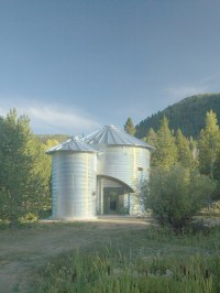 Build An Inexpensive Home Using Grain Silos