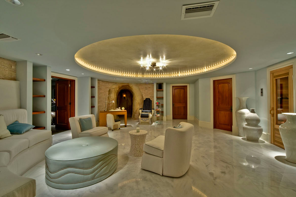 pictures of custom kitchen cabinets dining room sets grand cayman luxury home with grotto pools | idesignarch ...