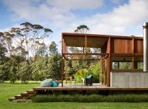 Great Barrier Island Sustainable House Surrounded By ...