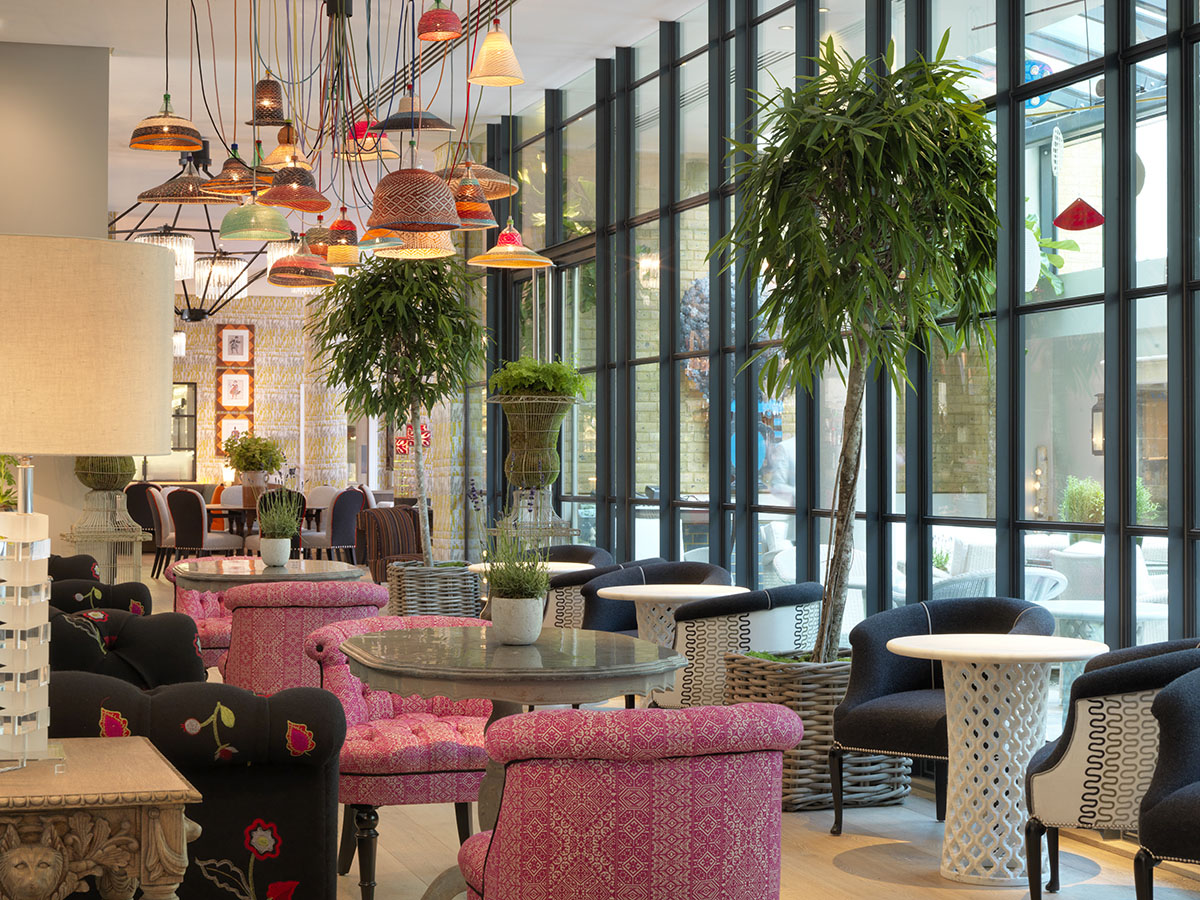 Ham Yard Bar  Restaurant Interior Design By Kit Kemp  iDesignArch  Interior Design