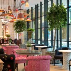 Outdoor Kitchen Kit Marble Countertops Ham Yard Bar & Restaurant Interior Design By Kemp ...