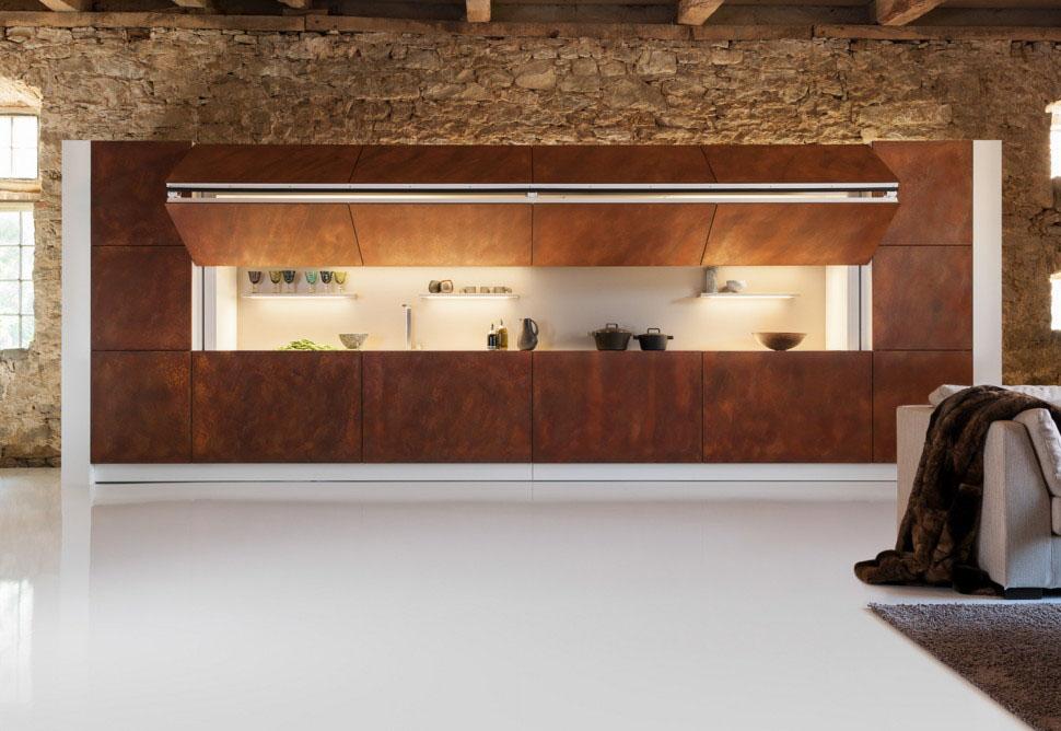 Cool Hidden Kitchen By Warendorf  iDesignArch  Interior