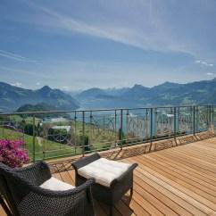 Prefab Outdoor Kitchens Kitchen Island Lighting Hotel-villa-honegg-lake-lucerne_9