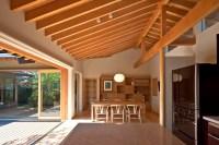 Timber-Framed Japanese House Built Around Private Gardens ...