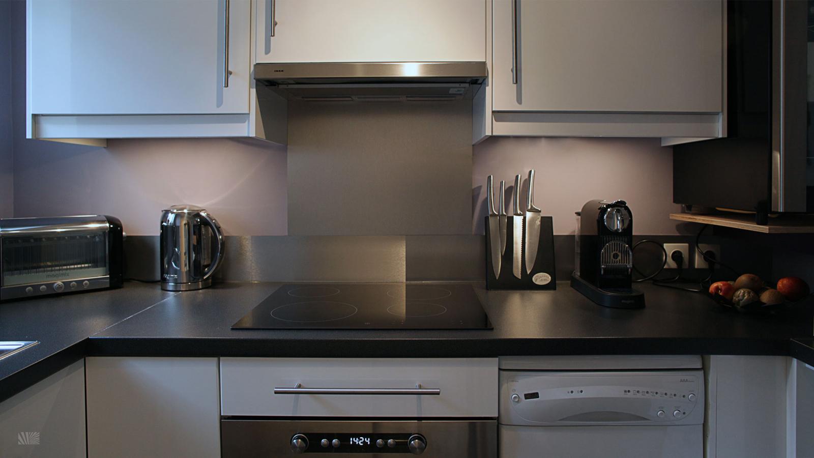 Stylish IKEA Kitchen For Small Space  iDesignArch