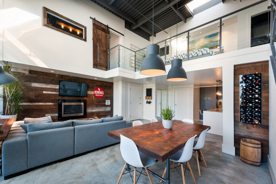 Loft Apartment In Vancouver with Mix of Modern and Vintage Look  iDesignArch  Interior Design