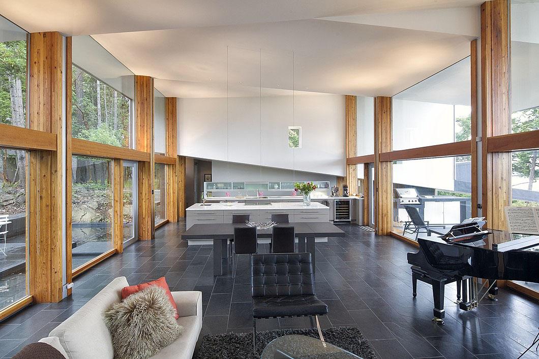 Architecturally Stunning Modern West Coast Island Retreat  iDesignArch  Interior Design