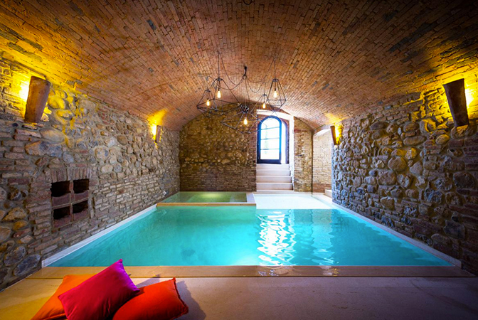 Baroque Style Italian Villa In Umbria With Indoor Vaulted Pool  iDesignArch  Interior Design