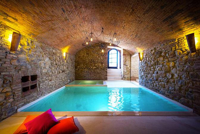 Baroque Style Italian Villa In Umbria With Indoor Vaulted Pool  iDesignArch  Interior Design