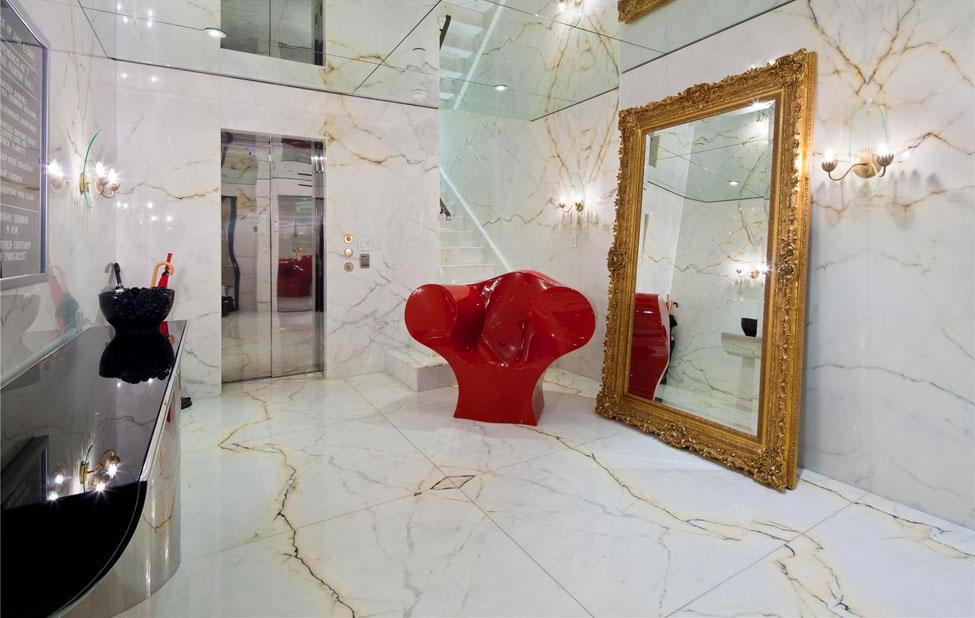 Manhattan Triplex Interior Design By Jonathan Adler