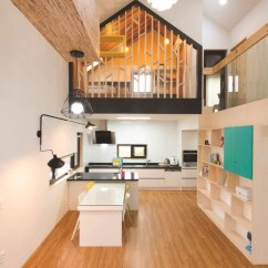 Island Kitchen Cabinets Ct Modern T-shaped House In South Korea | Idesignarch ...