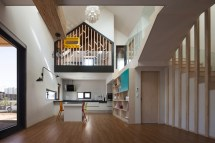 Modern T-shaped House In South Korea Idesignarch