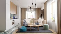 Refurbished Contemporary Small Apartment In Moscow ...