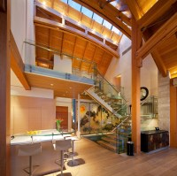 Luxury Timber Frame Mountain Retreat In Whistler ...