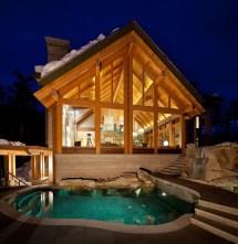 Luxury Mountain Timber Frame Home