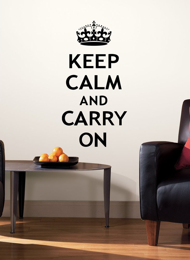 Keep Calm And Carry On Decor For Your Home  iDesignArch