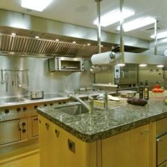 Hotel With Kitchen New York White Chandelier Sleek Mega Yacht