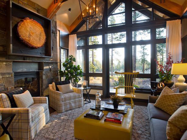 Rustic Mountain Style Lake Tahoe Dream Home  iDesignArch  Interior Design Architecture