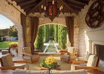 Spanish Style Outdoor Living